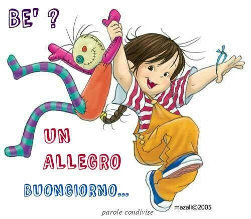 Un Allegro Buongiorno Social Buon Di Illustrazioni