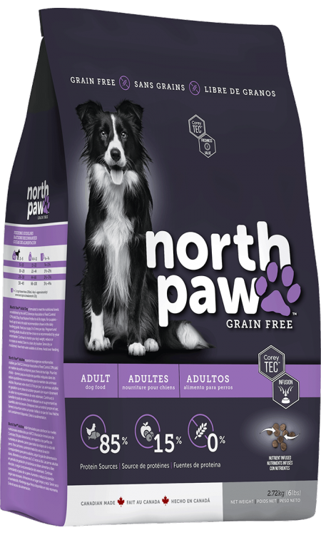 North Paw Pet Food In 2020 Pet Food Packaging Dog Food Recipes Food Animals