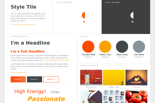 Just A Quick Little Template You Could Use For A Style Tile Mood - Best tile design websites