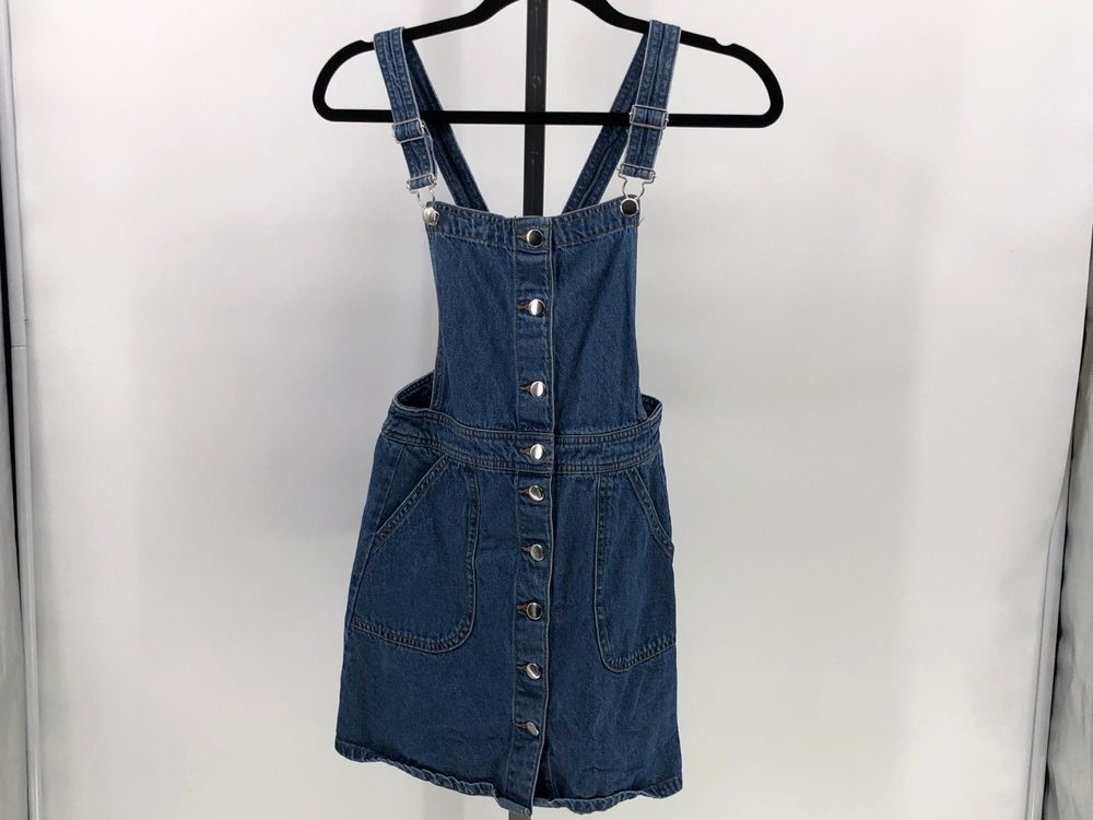 db42837cca01  DenimDress Divided by H M overall denim dress sz 4 EE16 - Denim Dress   15.00 End Date  Wednesday Dec-5-2018 9 22 20 PST Buy It Now for only    15.00 Buy It ...
