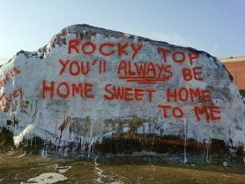 """""""The Rock"""" on University of Tennessee campus in Knoxville"""