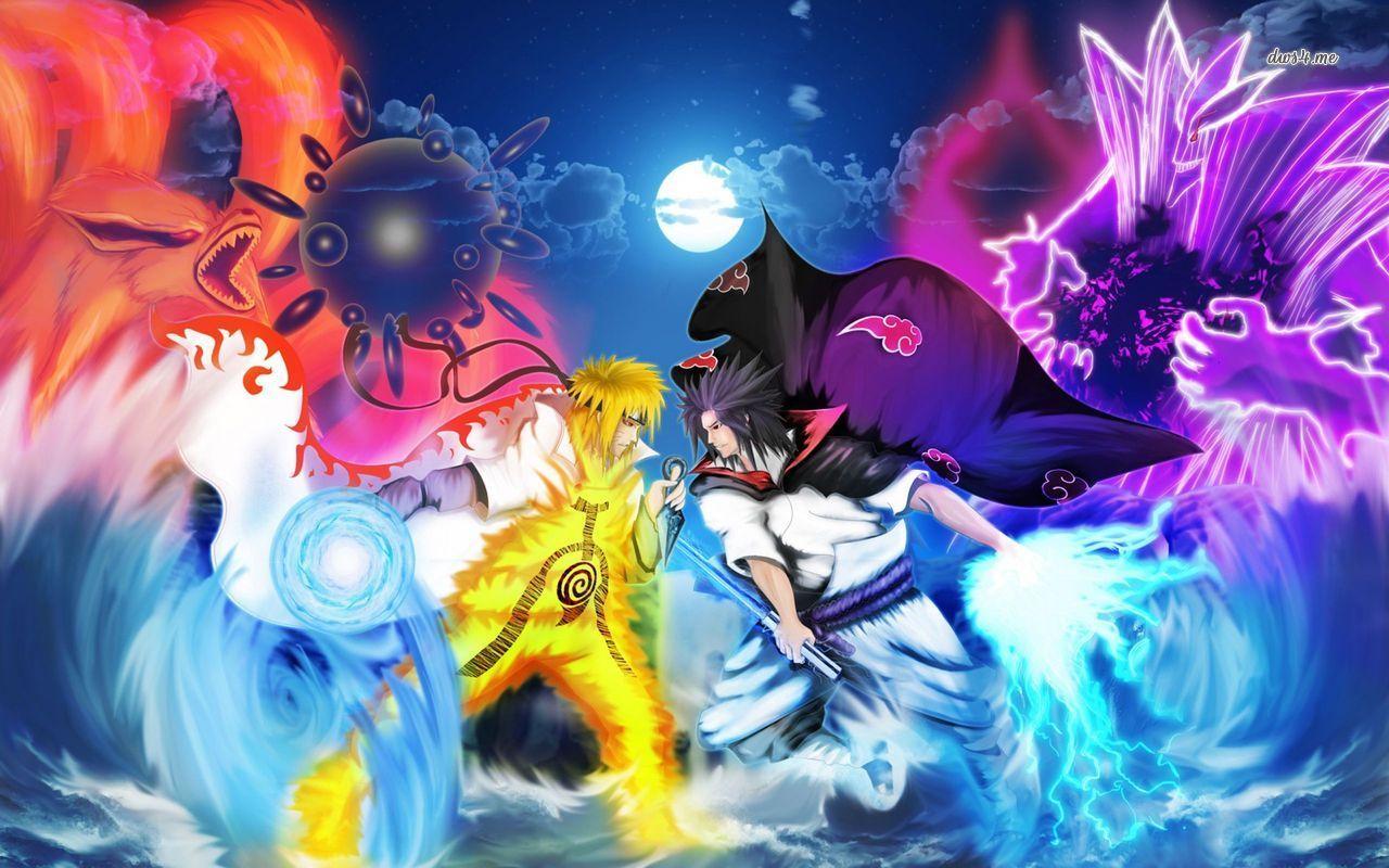 15 Hình ảnh Naruto vs Sasuke chất lượng HD đẹp nhất