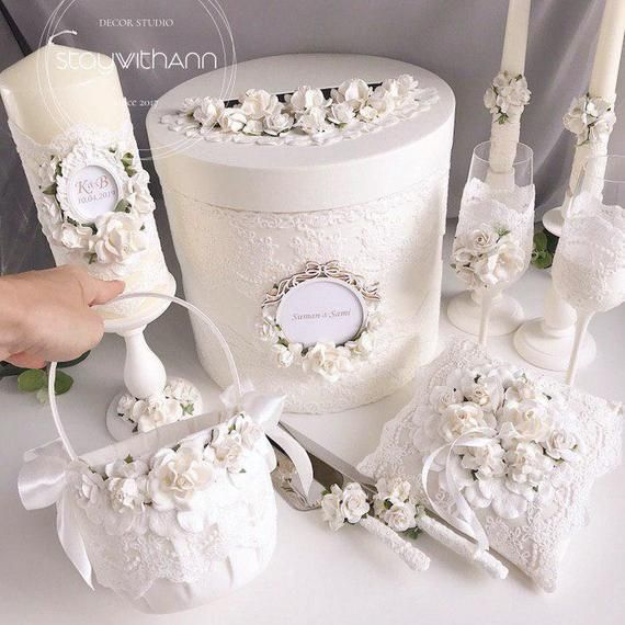 Ivory Card Box For Wedding Elegant Bridal Shower Reception Card Holder Wedding Box Personalized Wishing Well Box Money Box Card Post Box 1pc