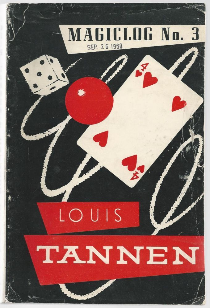 Old catalog of Louis Tannen Magic book, The magicians