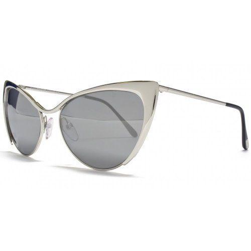 44771cb946c2e4 Tom Ford Nastasya Sunglasses Shiny Palladium FT03 ( 404.46) Lunettes De  Soleil Tom Ford,