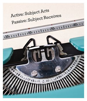 What's the deal with passive voice and why should you write in active voice? Find out!