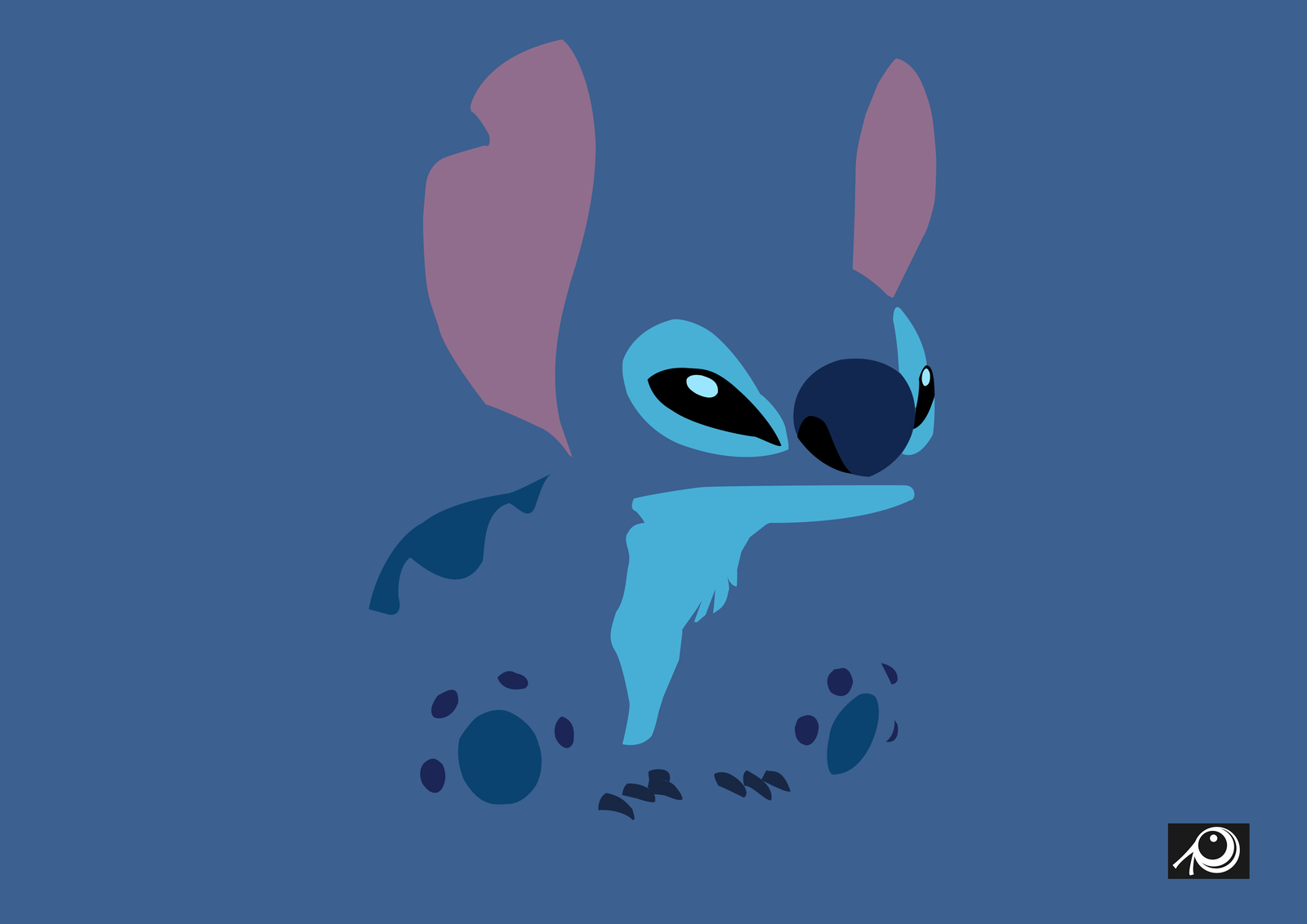 Stitch Minimaliste Cute Stitch Wallpaper Cute Wallpaper Backgrounds