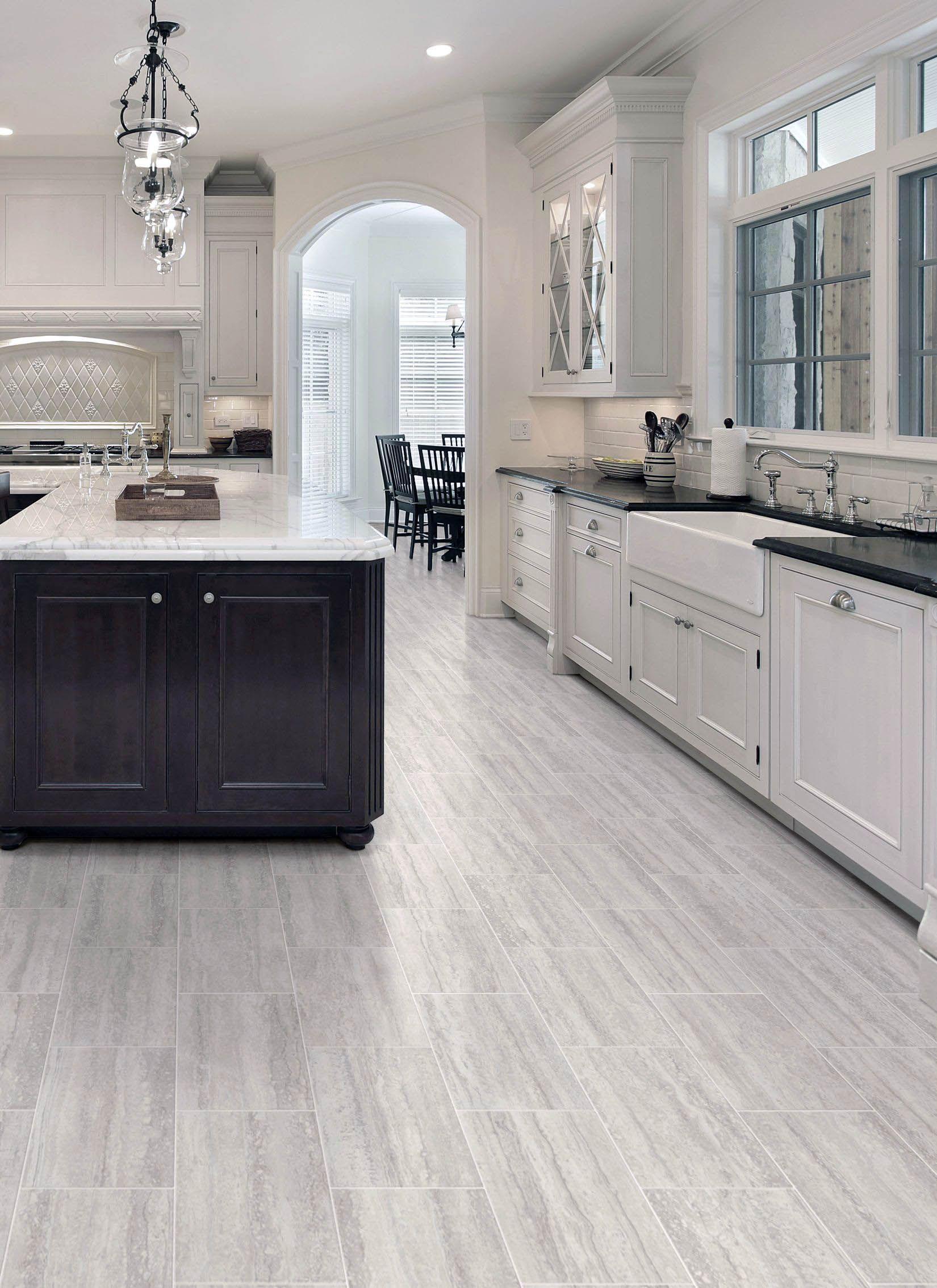 Pretty Kitchen Flooring Ideas For Dark Cabinets Only On Neuronhome Com Kitchen Vinyl Modern Kitchen Flooring Best Flooring For Kitchen