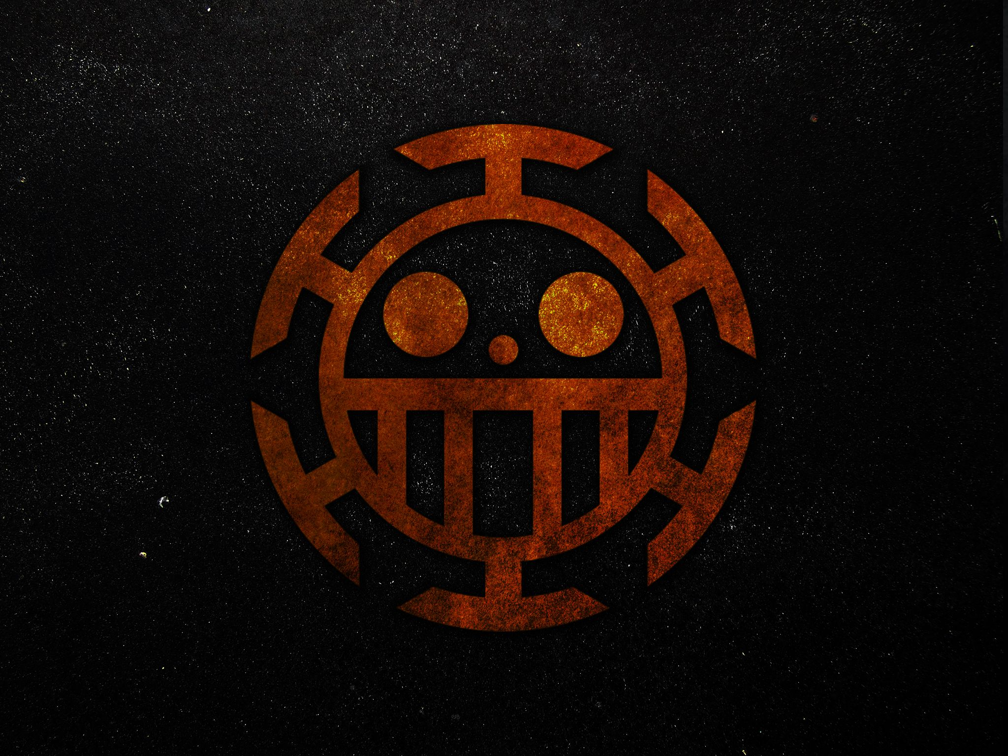 One Piece Law Logo Wallpaper