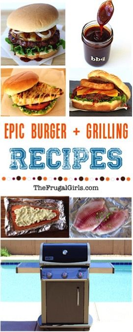 Best BBQ and Grilling Recipe from TheFrugalGirls.com