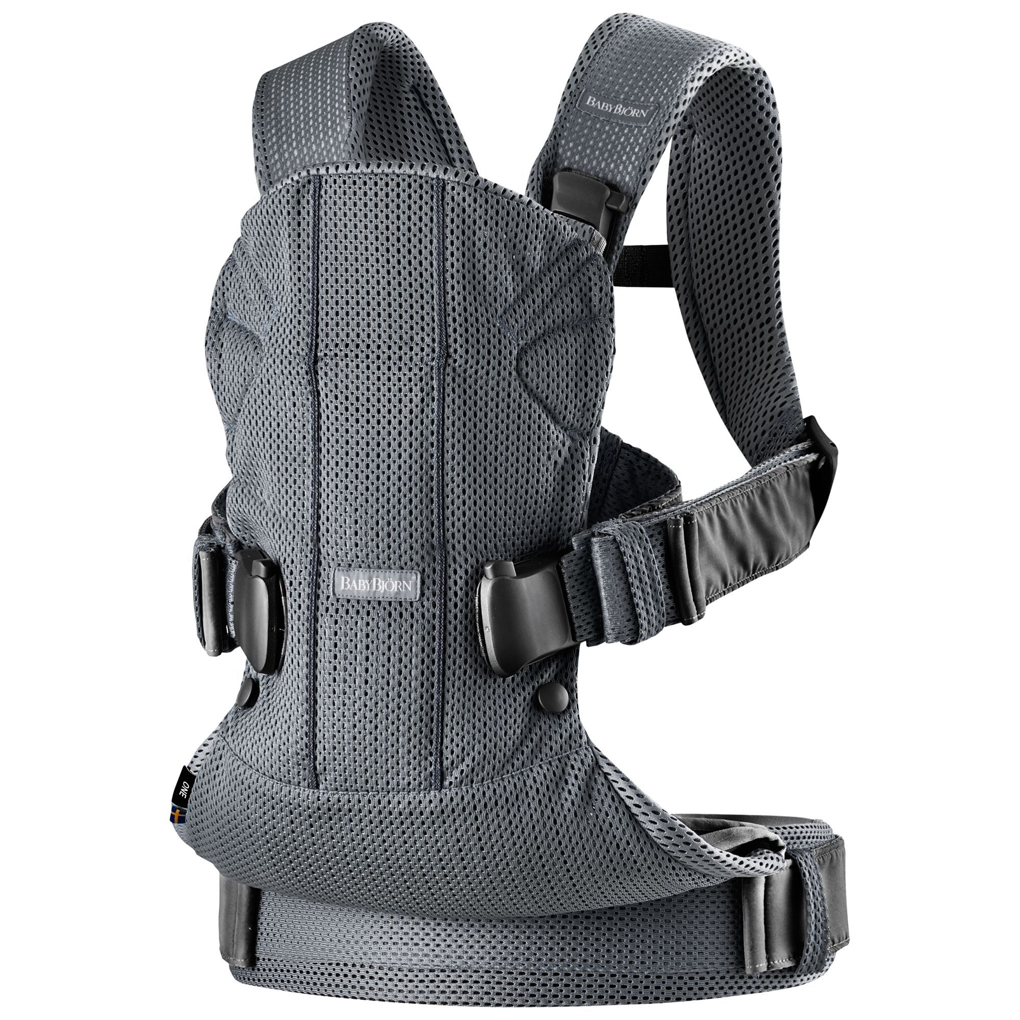 Babybjorn One Air Baby Carrier 2018 Anthracite In 2020 Baby Bjorn Carrier Baby Carrier Baby Bjorn