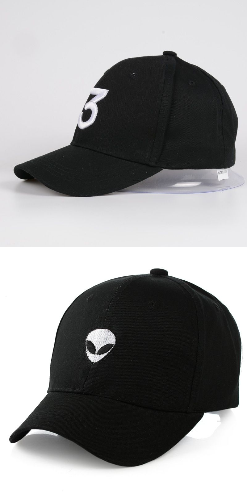 426c7620bc5 Hot aliens Outstar saucer Space E.T UFO fans black fabric baseball caps hat  for men women