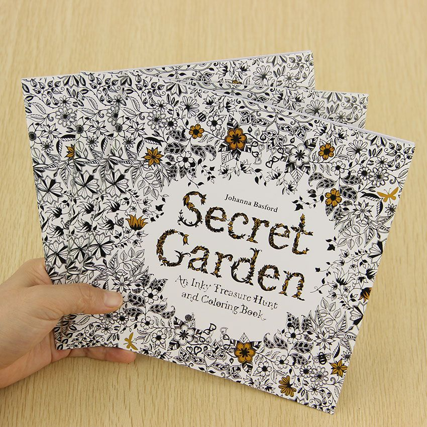 Cheap Book Protector Buy Quality Vinyl Directly From China Case Suppliers School Office Secret Garden 24 Pages Hand Painted Graffiti