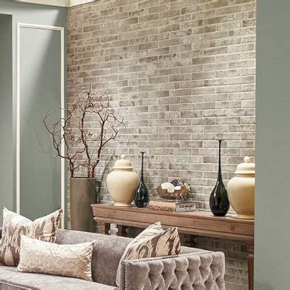 Amazing Wall Tiles Design Ideas For Living Room 21 In 2020