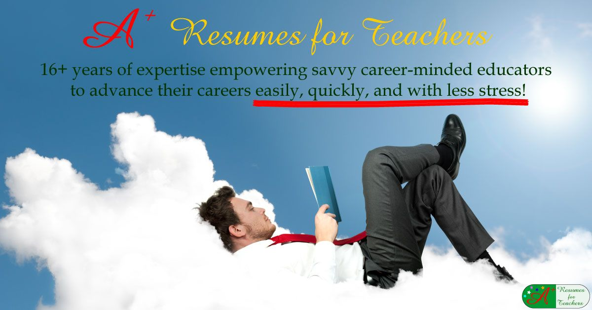 Resume writing service for educators