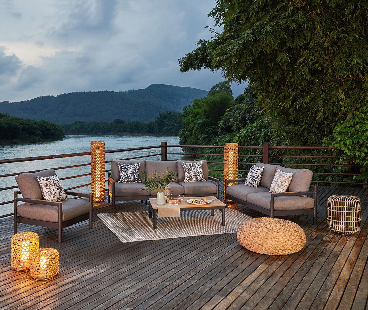 Gartenlounge Constania In 2020 Garten Lounge Im Freien Gartenmobel Sets