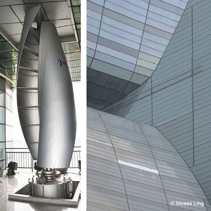Wind Turbines On Buildings Google Search Pearl River Tower