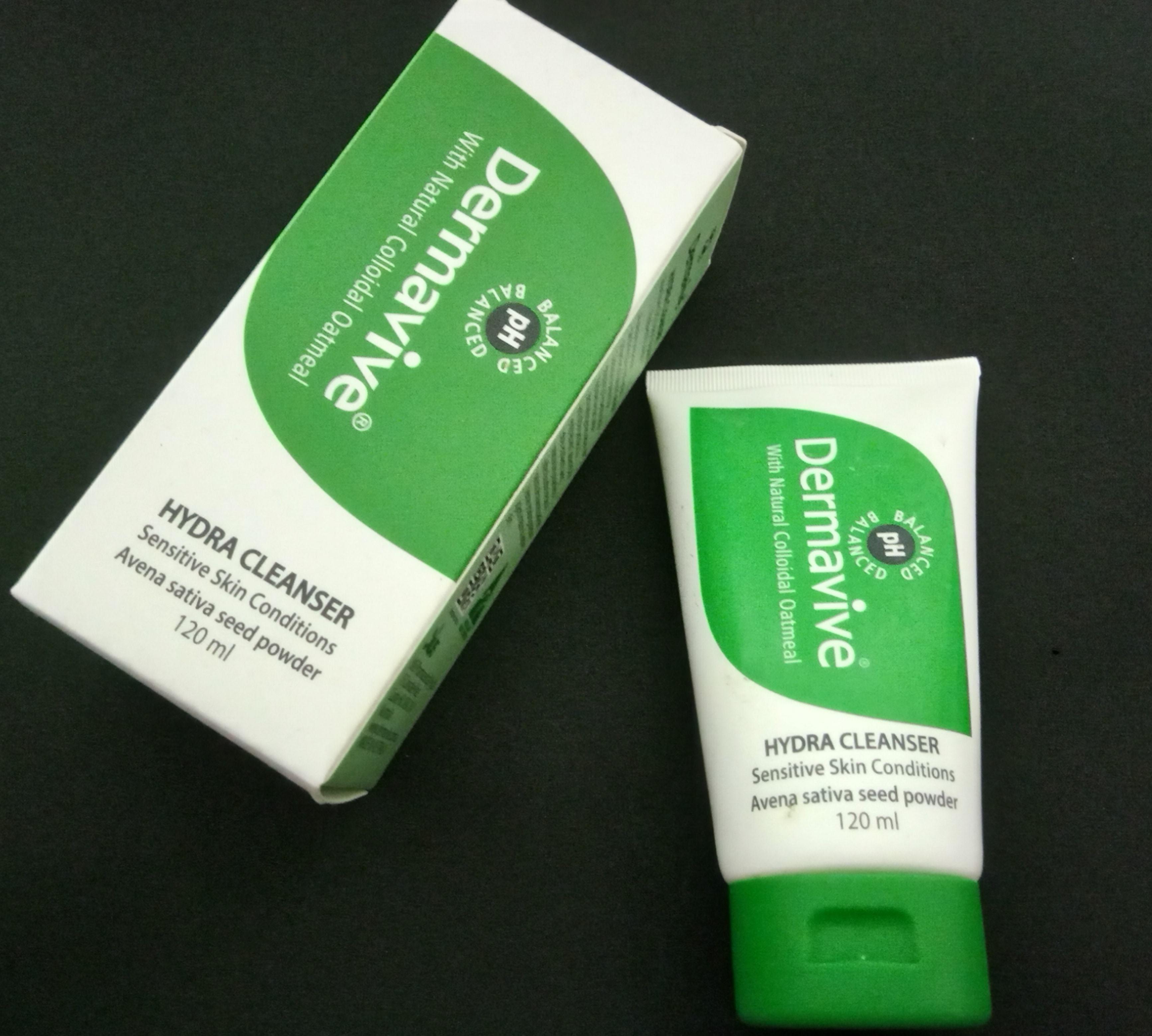 Dermavive Hydra Cleanser Cleanser sensitive skin