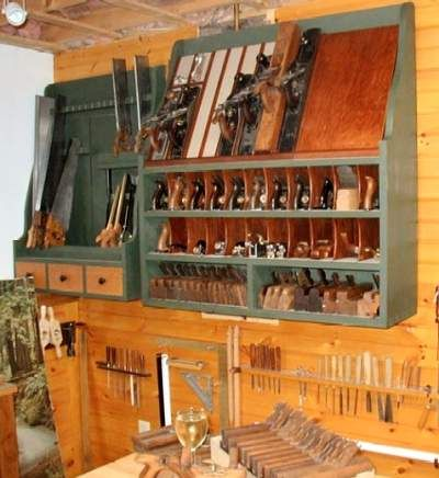Plane And Hand Saw Storage Tool Chest Tool Storage Pinterest
