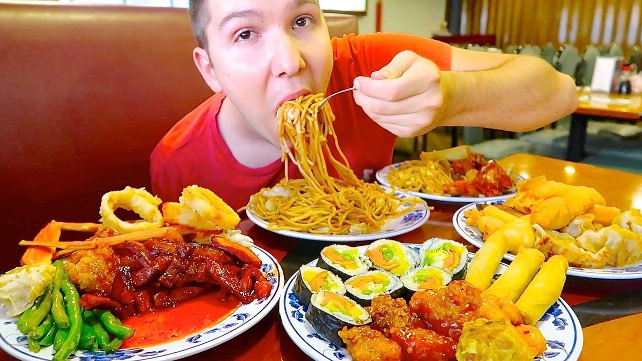 Massive Chinese Buffet All You Can Eat Mukbang Chinese Buffet Mukbang Great Dog Names