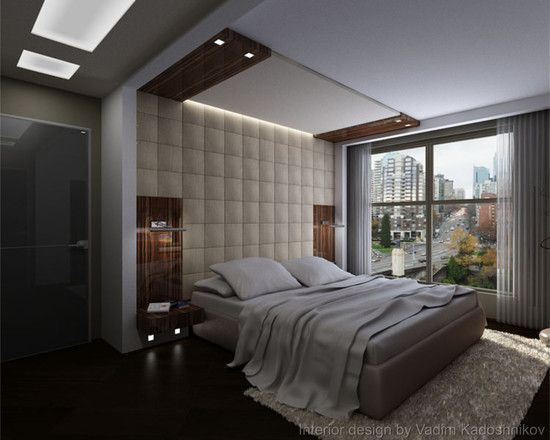 Bedroom Modern Design Glamour Padded Wall Panels For Bedroom Brown Leather Padded Wall