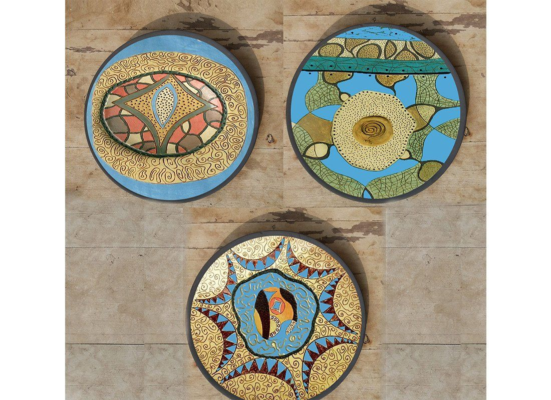 Wall Plates Decor Online Amazing Buy Handpainted Wall Plates  Bulgarian Wall Plates  Home Décor Design Ideas