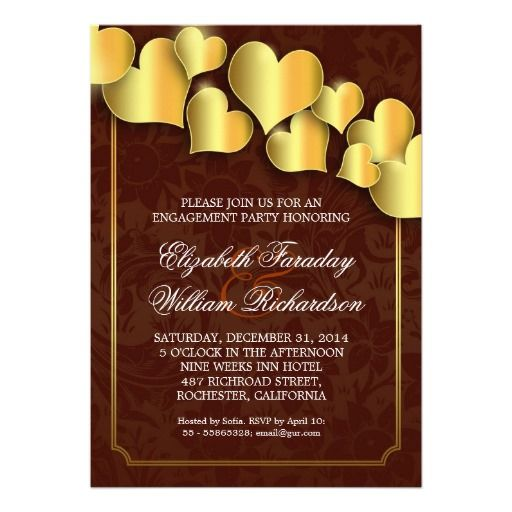 Beautiful engagement party invitations engagement party beautiful engagement party invitations stopboris Gallery