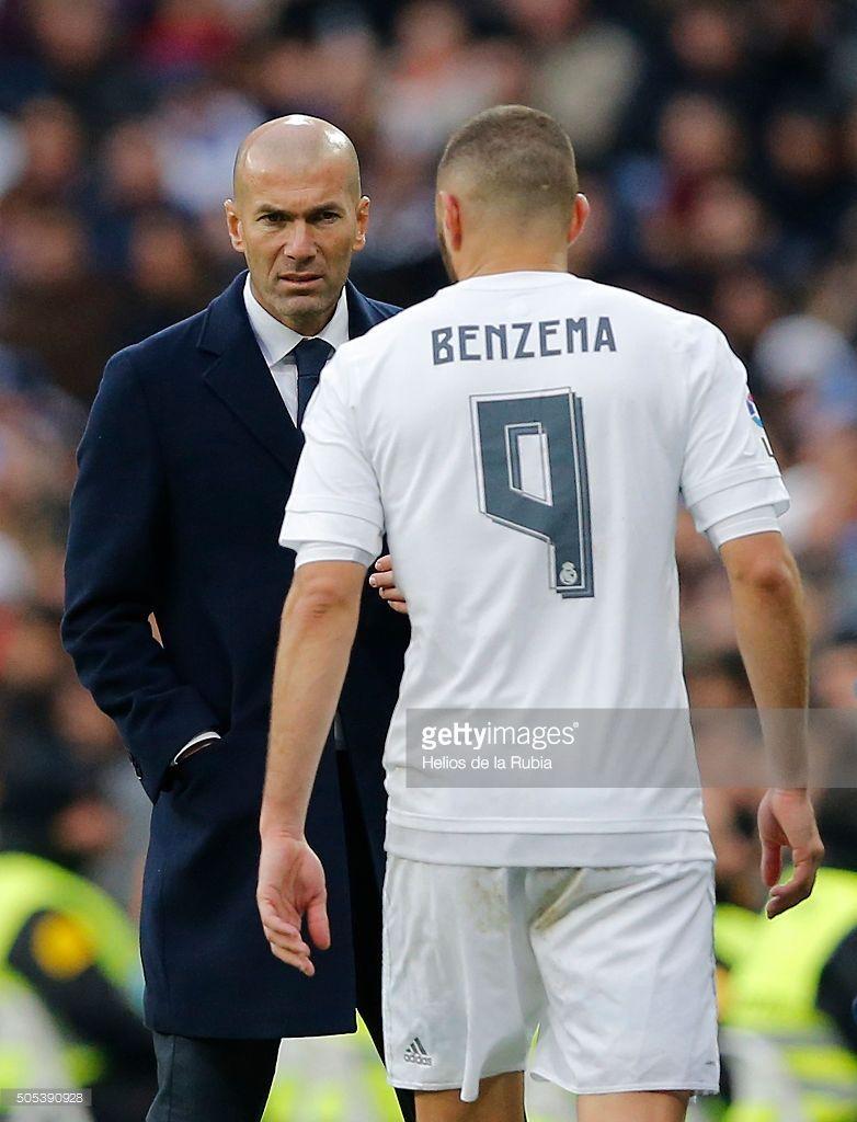 zidane & benzema | real madrid | pinterest | real madrid and madrid