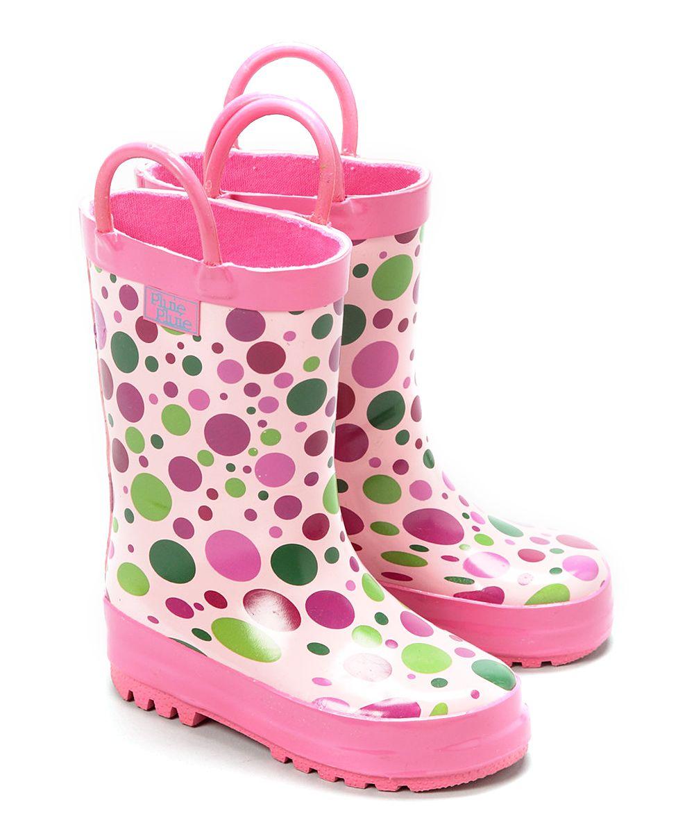 Candy Dot Rain Boot