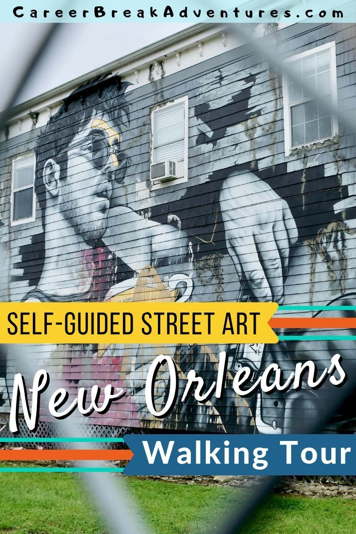 Looking to escape the touristy French Quarter? With amazing food, culture and tons of street art, New Orleans may just be the most fascinating city in the US. It is the perfect place to explore on foot or by bike. Simply follow this free self-guided New Orleans street art walking tour to find the best route through the city's hippest neighborhoods.