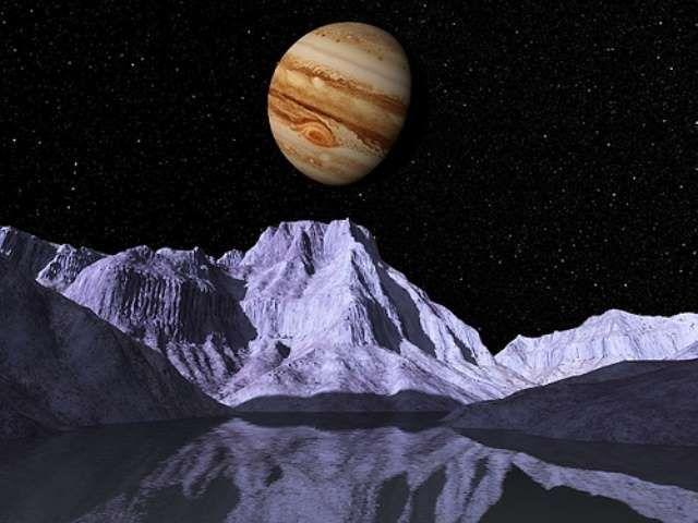 Vida En Europa La Luna De Jupiter Space Art Jupiter S Moon Europa Jupiter Moons