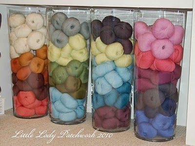 Oh You Crafty Gal: Best Ideals For Yarn And Knitting Supply Storage Ideas  For Knitting Storage