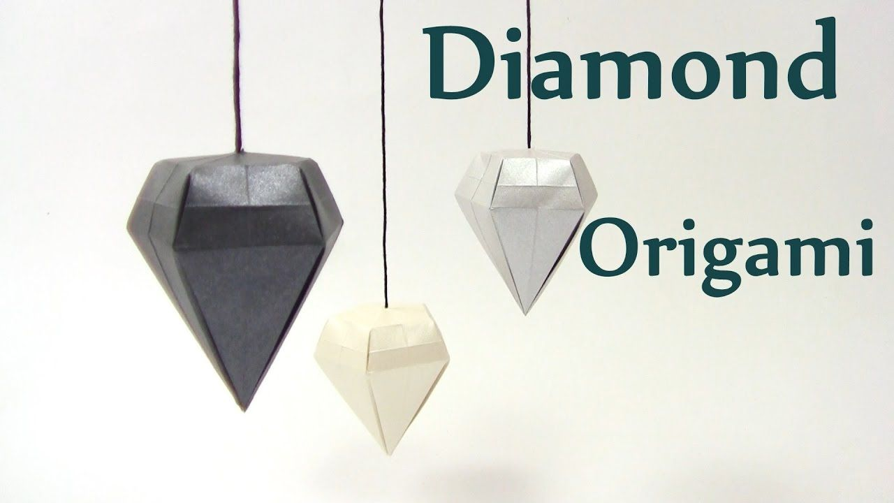 Origami Diamond Simple Easy By Yakomoga Yakomoga