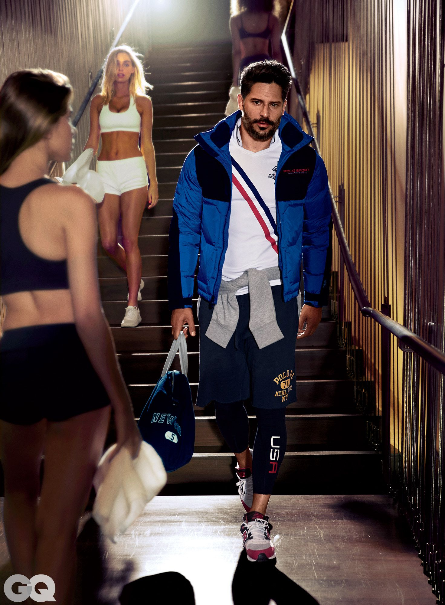 Joe Manganiello Sports the Most Stylish Gym Clothes