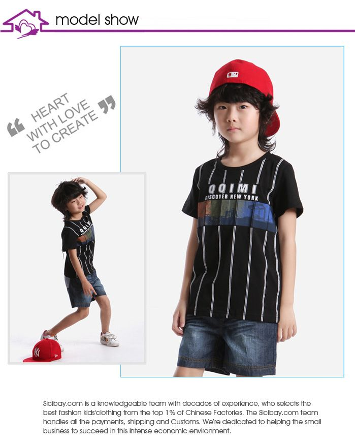 d28a482d Children Clothing Tops Boutique Black Discover New York Short Sleeve ...