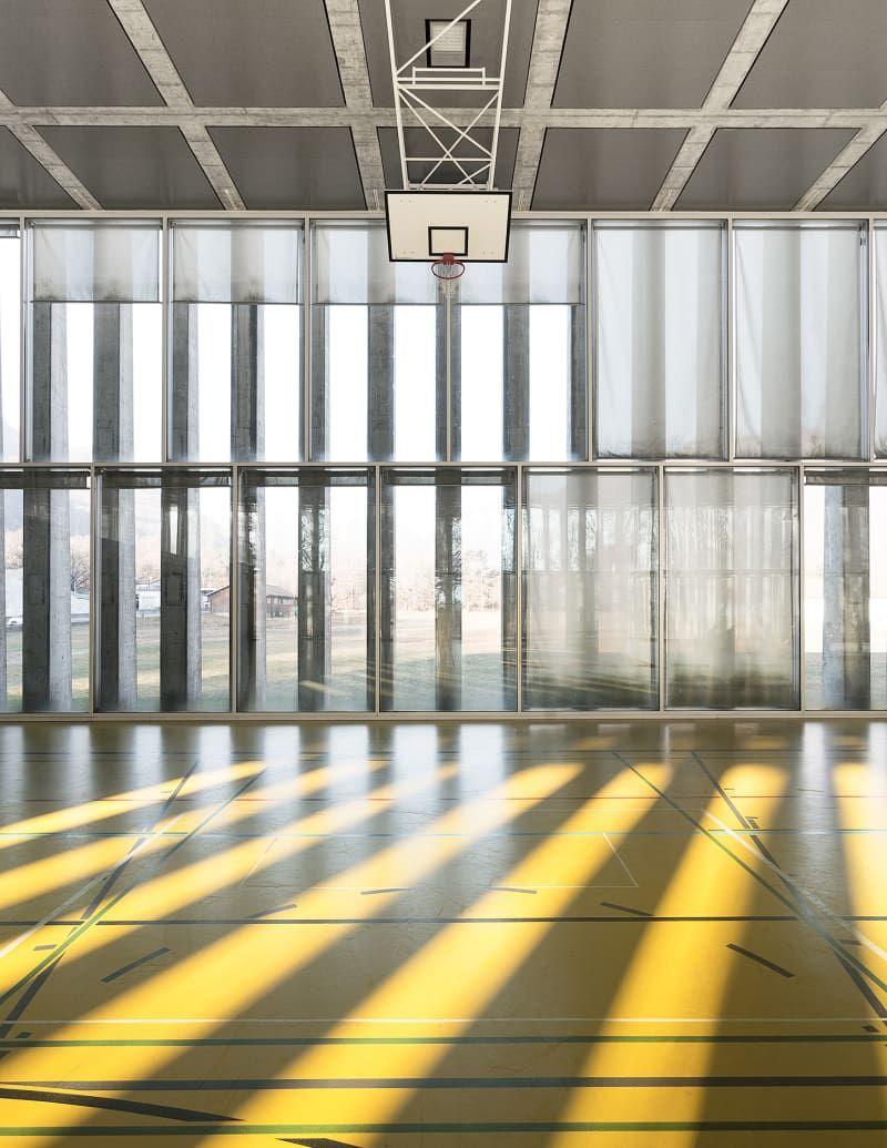 Studio vacchini architetti simone bossi palestra di for Architetti d interni famosi