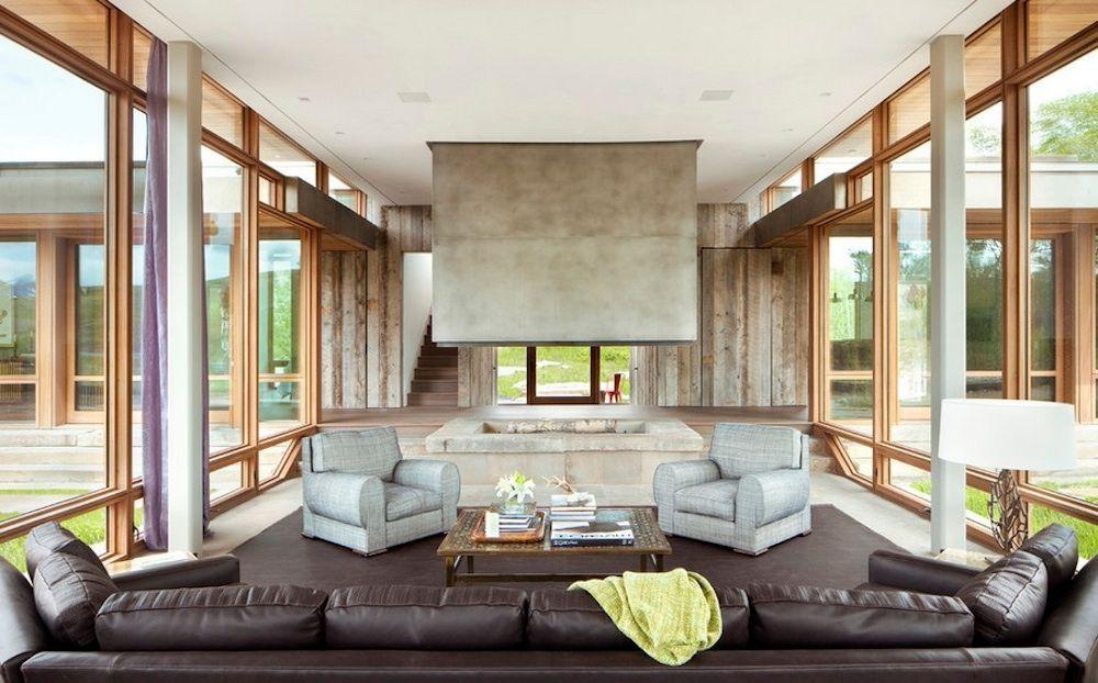 10 Chimney Basics Every Homeowner Needs To Know Contemporary Decor Living Room Big Timber Contemporary Living Room