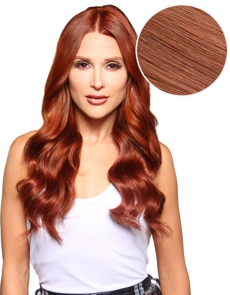 Piccolina 120g 18 Vibrant Red 33 Hair Extensions
