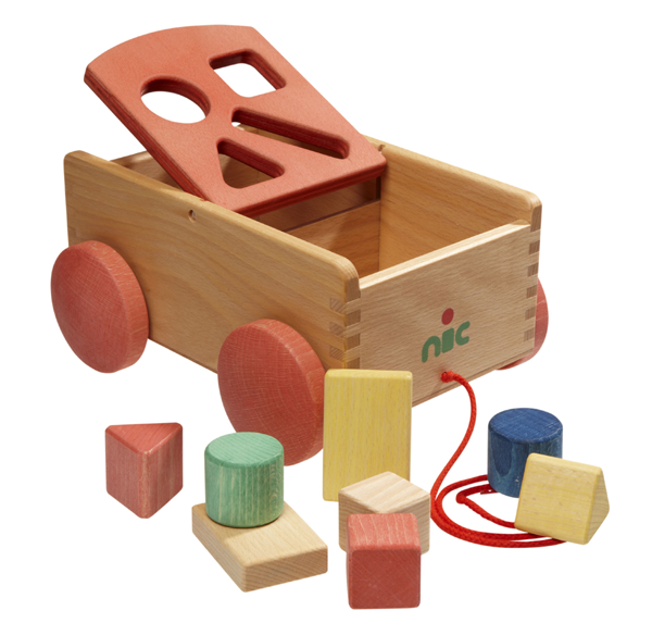 Bio Shape Sorter Cart   Natural toys, Shapes and Toy