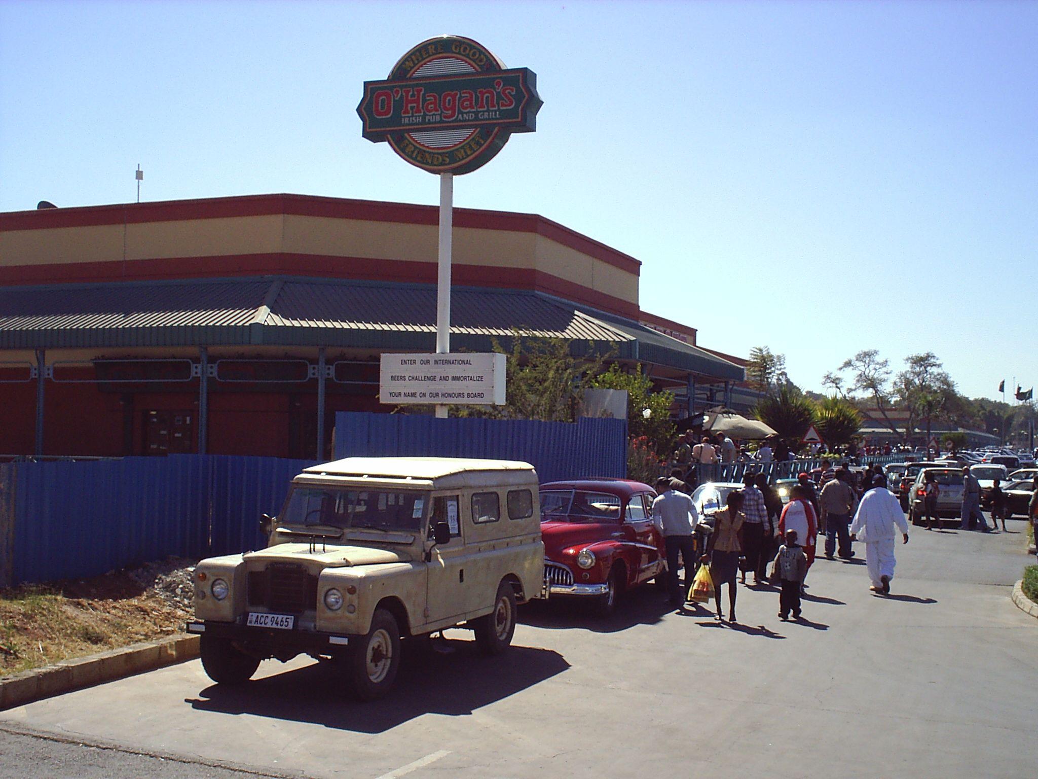 Classsic Cars At Manda Hill Lusaka Zambia Classic Cars Cars