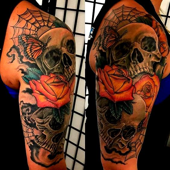 Photo of Idées de tatouages à demi-manches #Halfsleevetattoos
