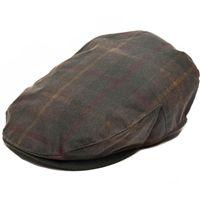 Christys  Tartan Waxed Cotton Balmoral Waxed - British Millerain Cap ... 8265dfb0776