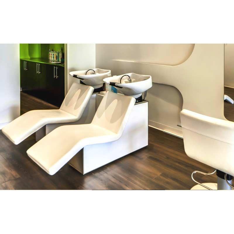 Belvedere wellness shampoo backwash sofa unit hair salon