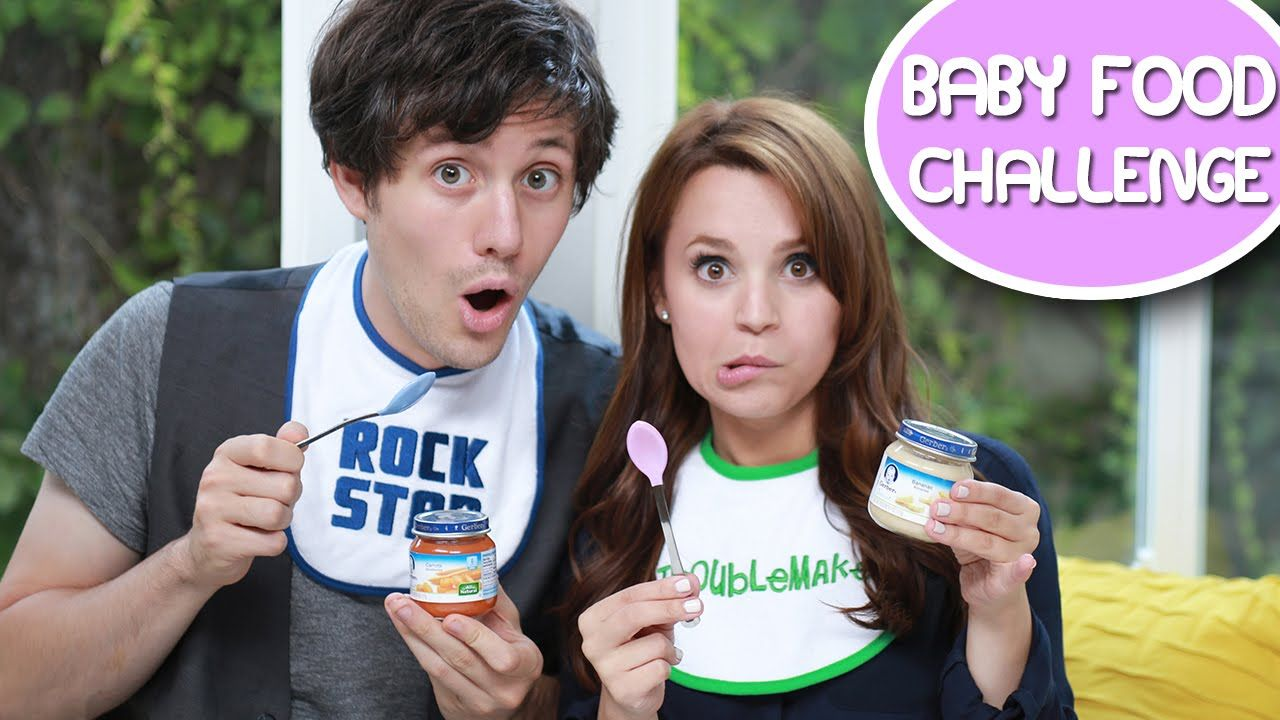 Rosanna Pansino Challenges Baby Food