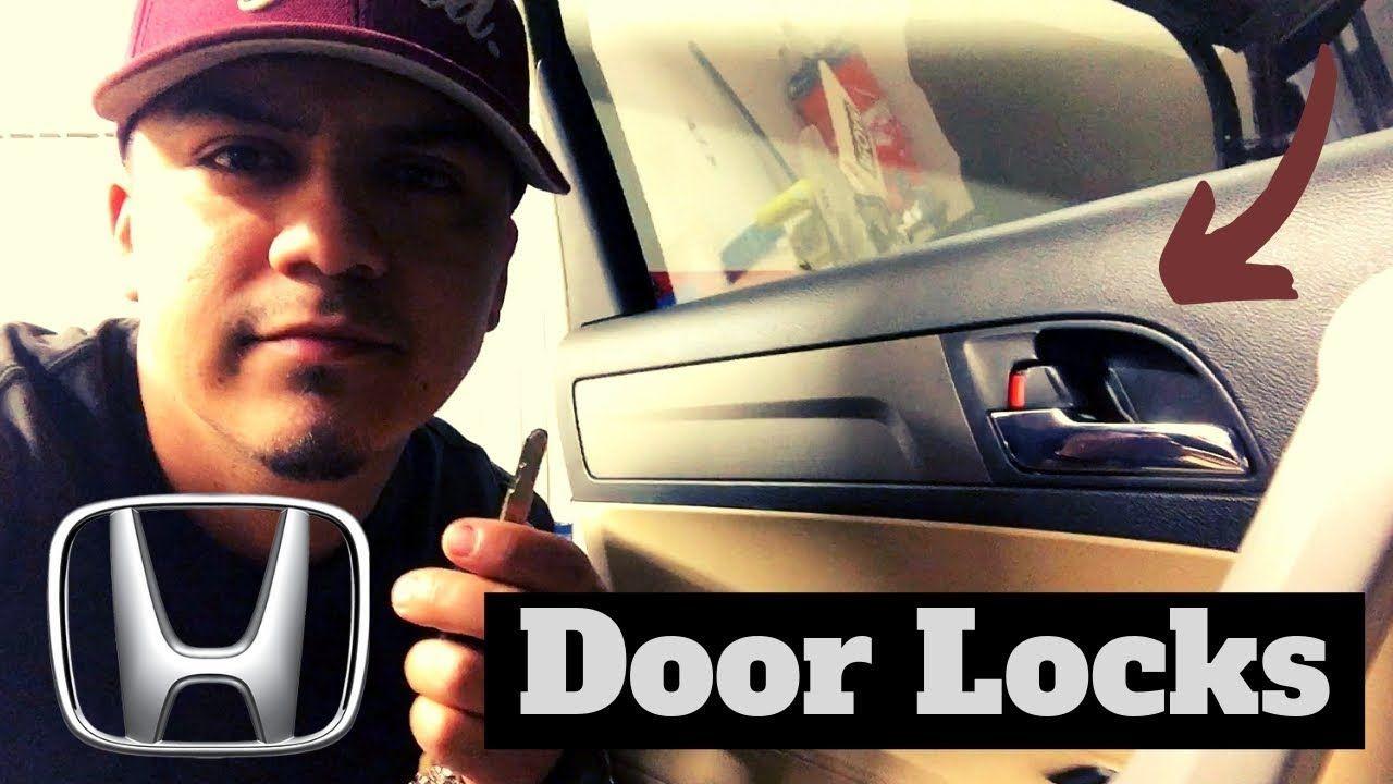 Honda Crv Common Door Lock Problems Youtube In 2020 Honda Crv Door Locks Honda