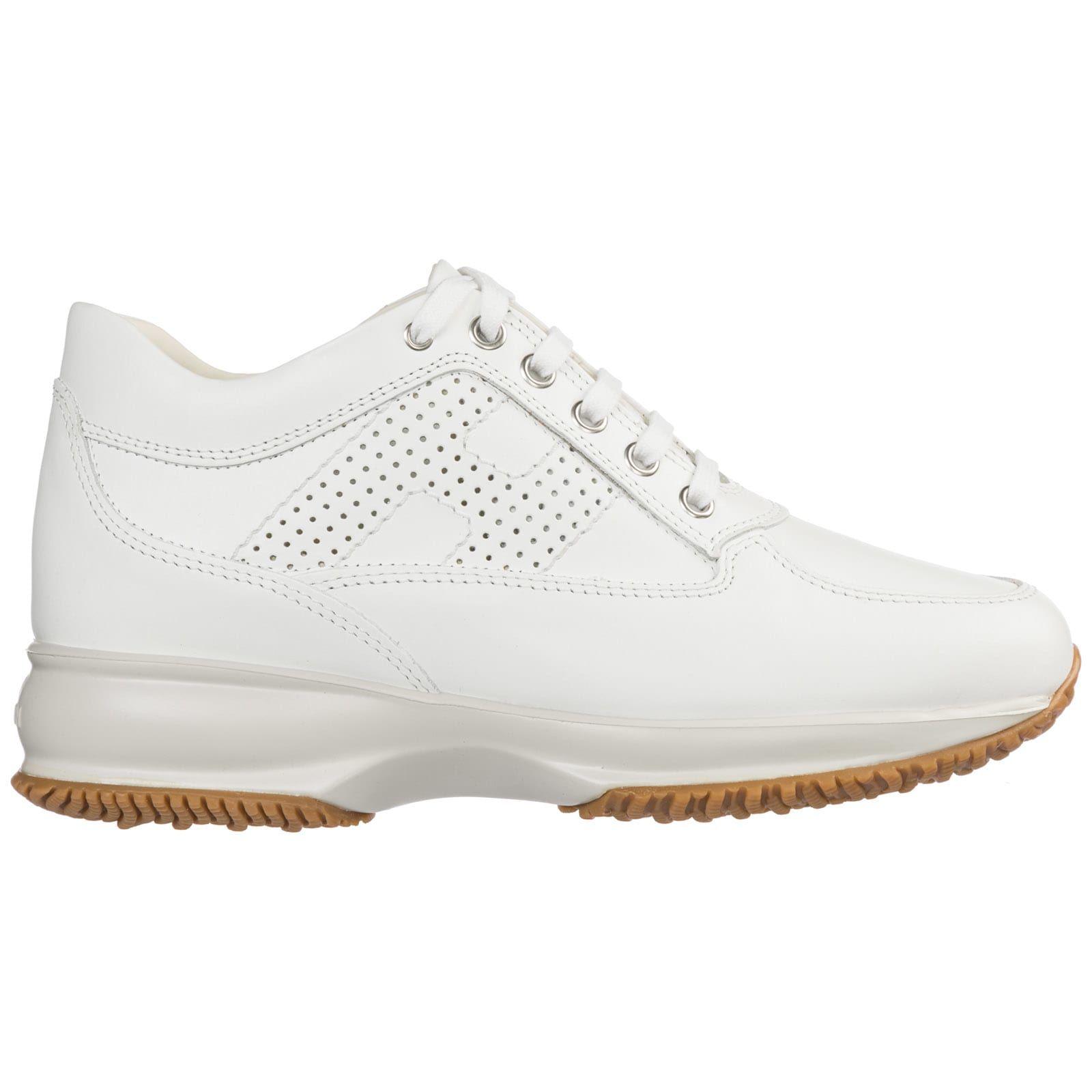 Hogan Sneakers Interactive HXW00N00E10I8ZM024 Beige Donna Scarpe ...