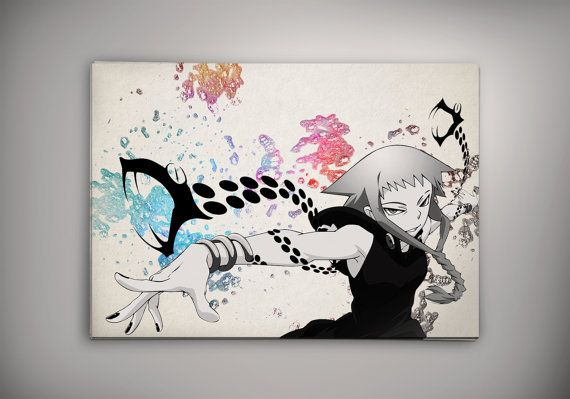 25Hey, I found this really awesome Etsy listing at https://www.etsy.com/listing/201400268/medusa-soul-eater-anime-manga-watercolor