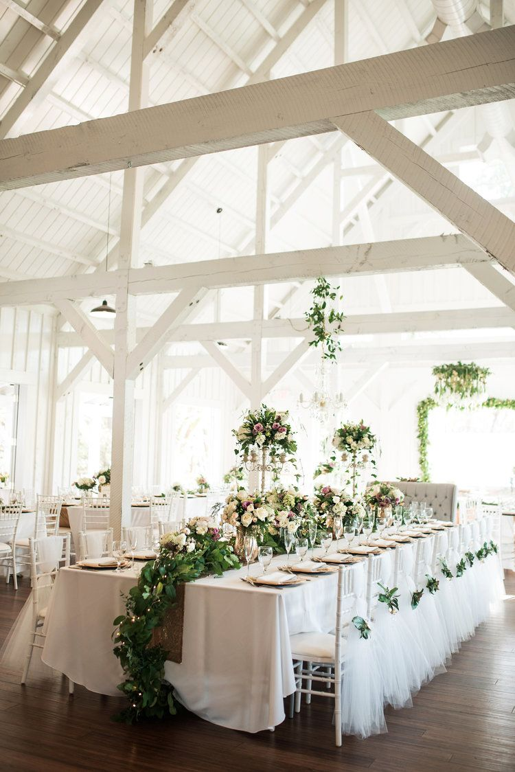 All White Barn Dream Wedding Venue Spain Ranch Jenks Ok Bobarikin Photography