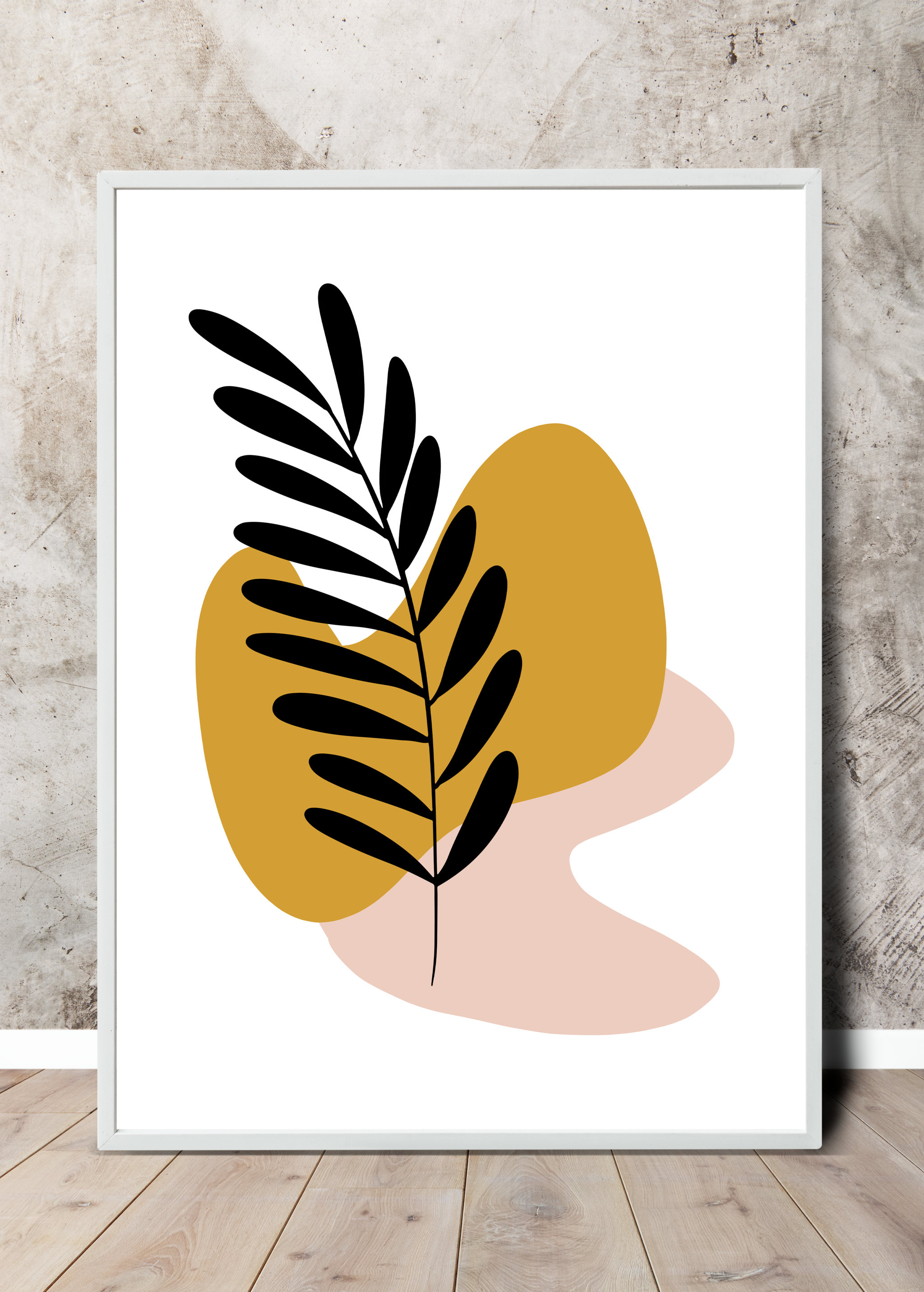 This one here is Botanical No 06, a free printable poster part of the Botanicals collection. Free for you too download, print and hang on your walls! Go ahead and add it to your cart, it'll be free at checkout!  This printable wall art is High Resolution and can be printed as big as 24inc x 36inc (300 DPI) with flawless gallery-like quality.