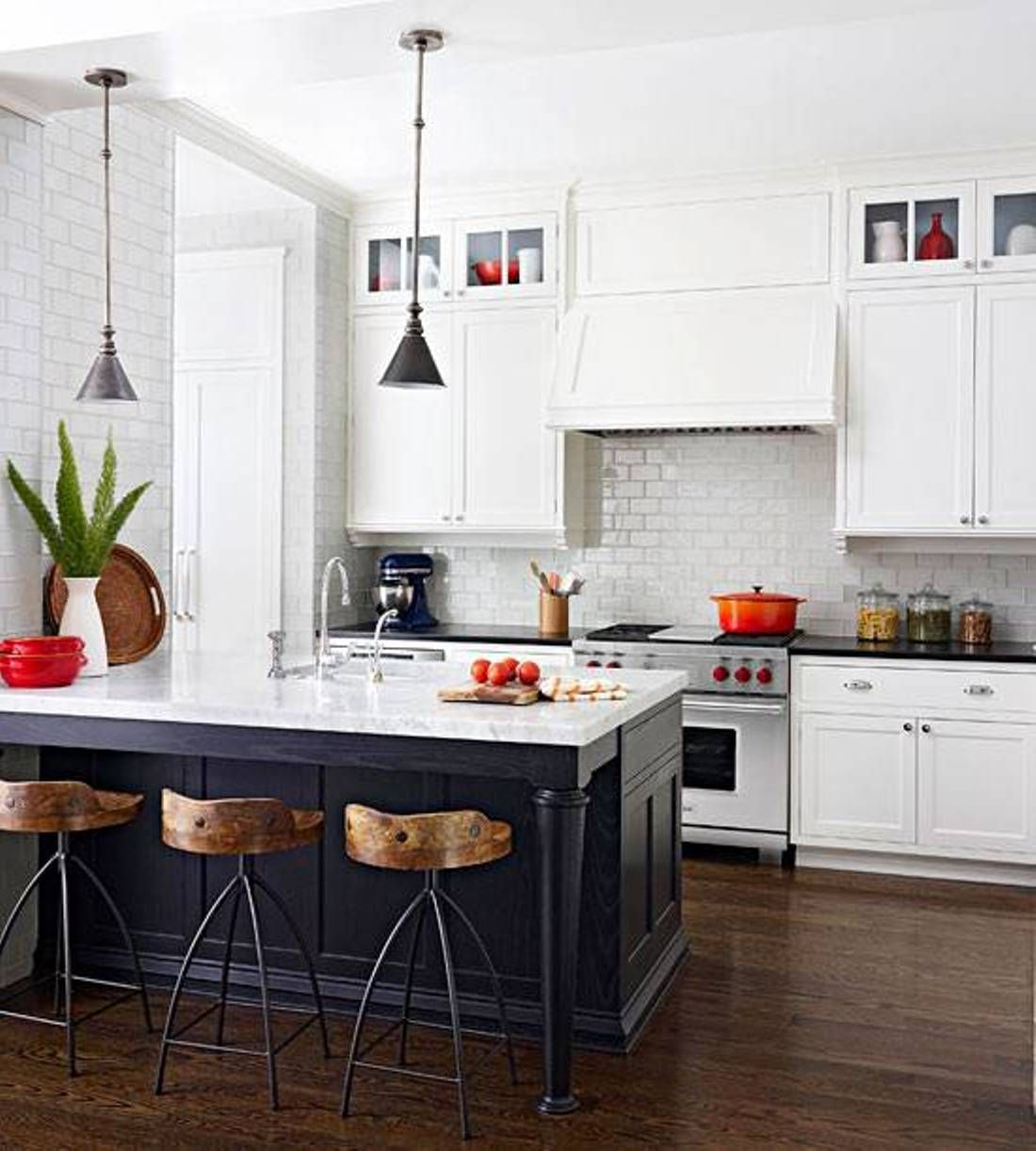 Island kitchen floor is not actually a form of a modern for Open plan kitchen ideas